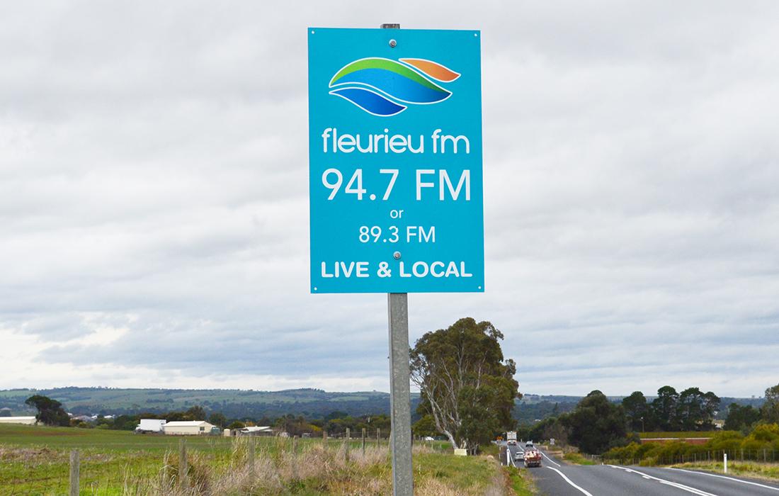 Our New Roadsigns - Fleurieu FM